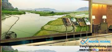 Tranh dán tường đẹp tại TP HCM - Nghĩa Hoàng thi công tranh dán tường chất lượng