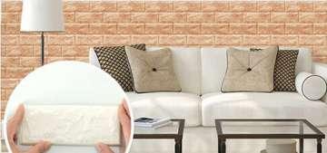 Trang trí nhà với xốp dán tường 3D