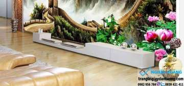 Mua tranh dán tường tại quận 12