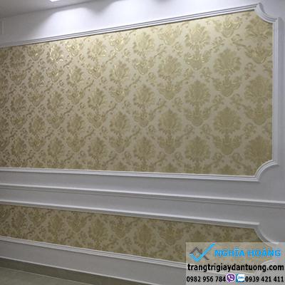 Thuê thợ dán giấy tường ở sài gòn