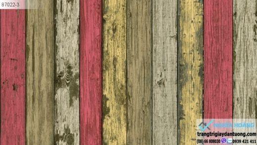 giấy dán tường giả gỗ màu, giấy dán tường giả gỗ cổ