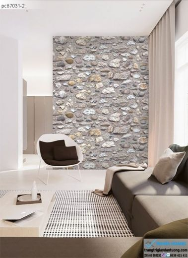 giấy dán tường giả đá xi măng, giấy dán tường giả đá