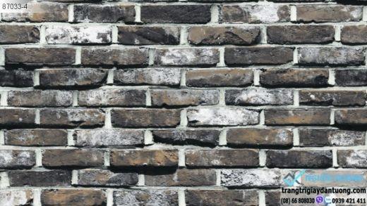 giấy dán tường giả gạch, giấy dán tường giả gạch cổ, giấy dán gạch nung