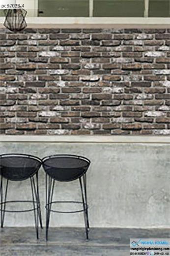 giấy dán tường giả gạch, giấy dán tường giả gạch cổ