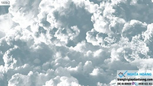 Giấy dán tường darae - mây trời, mây xanh, bầu trời xanh, mây trắng, mẫu mây