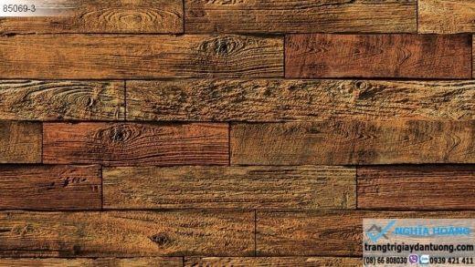 Giấy dán tường bê tông gỗ, giấy dán tường gỗ dạng bê tông