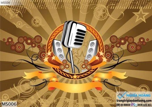 Tranh Dán Tường Karaoke, Music
