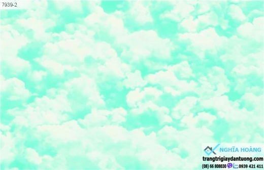 Giấy Dán Tường Annie - mây trời, mây xanh, bầu trời xanh, mây trắng, mẫu mây