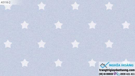 giấy dán tường trẻ em, giấy dán tường ngôi sao, giấy dán tường sao rơi