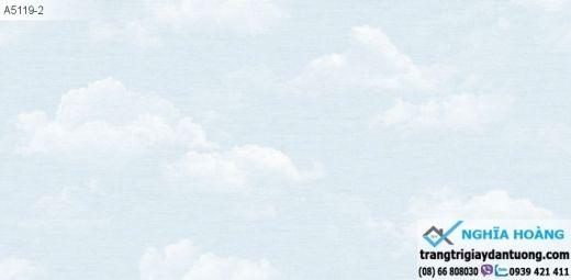 Giấy Dán Tường Dream World - mây trời, mây xanh, bầu trời xanh, mây trắng, mẫu mây