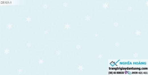 giấy dán tường trẻ em, giấy dán tường bông tuyết, giấy dán tường em bé