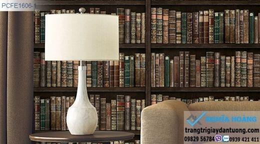 Giấy dán tường kệ sách, giấy dán tường tủ sách