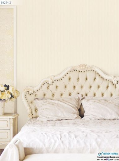 Giấy Dán Tường Regina - dạng trơn, sọc dọc, dạng gân, đầu giường, điểm nhấn, phòng ngủ