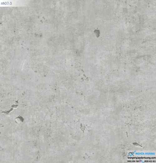 Giấy Dán Tường Regina - màu xi măng, màu bê tông, mẫu xi măng