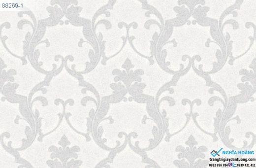 Giấy Dán Tường Regina - dạng hoa văn, mẫu cổ điển, mẫu phòng khách