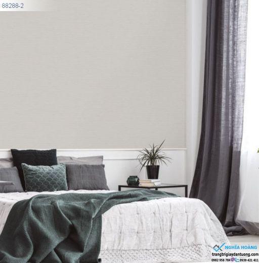 Giấy Dán Tường Regina - dạng trơn, sọc dọc, dạng gân, mẫu phòng ngủ