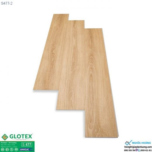 Sàn nhựa Glotex 4mm