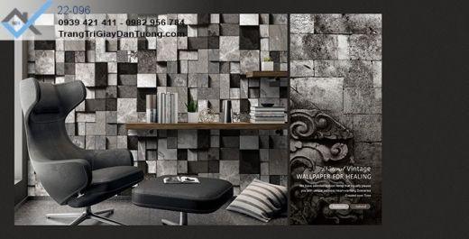 Giấy Dán Tường Piedragiấy dán tường gạch đá, giấy dán tường đá xếp, giấy dán tường đá 3d