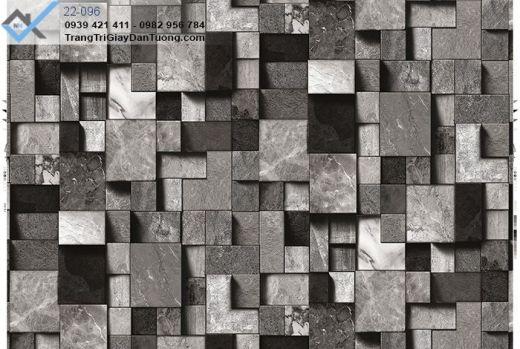 giấy dán tường gạch đá, giấy dán tường đá xếp, giấy dán tường đá 3d