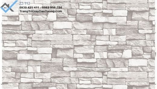 giấy dán tường giả đá, giấy dán tường đá xưa