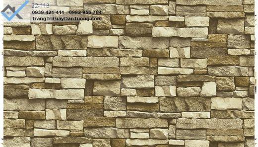 giấy dán tường đá thiên nhiên, giấy dán tường đá xếp chồng