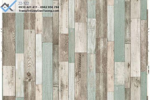 giấy dán tường giả gỗ miếng, giấy dán tường thanh gỗ