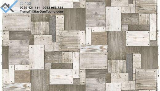 Giấy Dán Tường mẫu gỗ, giấy dán tường giả gỗ, giấy giả gỗ miếng
