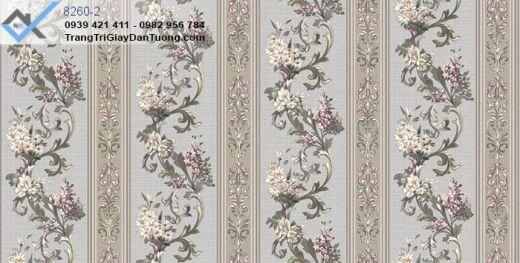 Giấy dán tường bông hoa, giấy dán tường hoa lá, giấy dán tường hoa leo