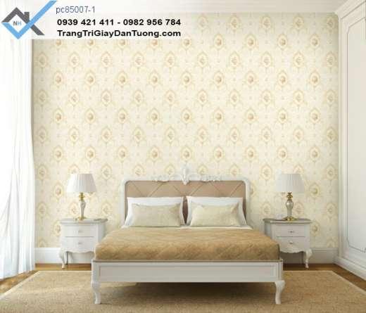 Giấy dán tường giấy dán tường phòng ngủ, giấy dán tường hoa văn châu âu