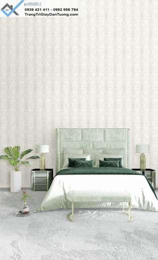 Giấy dán tường hoa văn cổ điển, giấy dán tường phòng ngủ