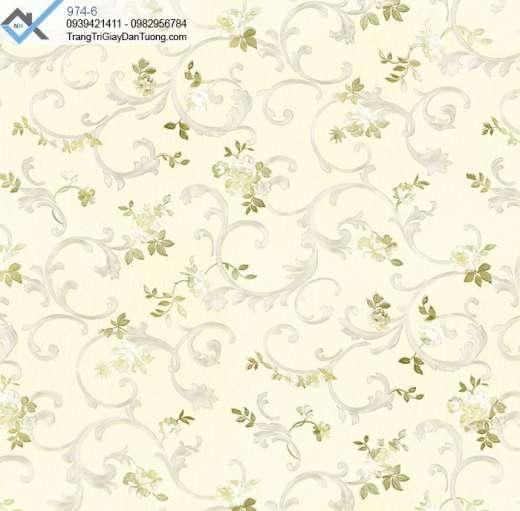 Giấy dán tường hoa văn, giấy dán tường bông hoa