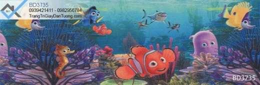 Giấy dán tường động vật biển, giấy dán tường đại dương