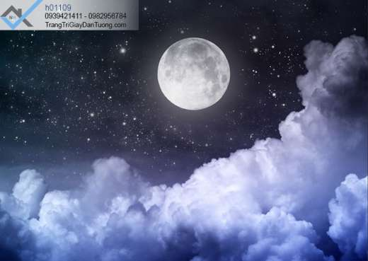 Tranh dán trần bầu trời đêm, tranh dán trần dãy thiên hà