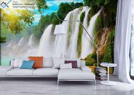 Tranh dán tường thác nước, tranh dán tường thác nước bản giốc
