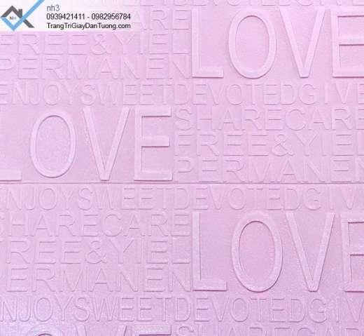 Xốp dán tường dạng chữ, xốp ốp tường có chữ, xốp dán tường chữ