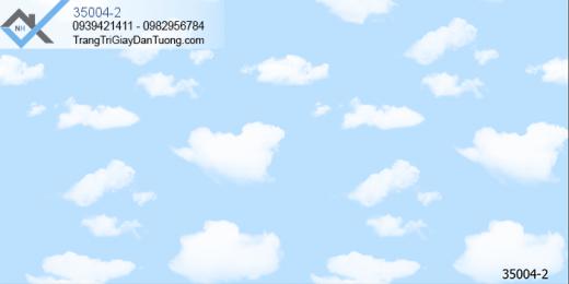 Giấy dán tường mẫu mây giấy dán tường mây trời