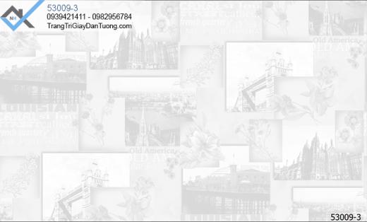Giấy dán tường địa danh thế giới-giấy dán tường hình tháp đôi