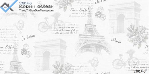 Giấy dán tường địa danh thế giới-giấy dán tường hình tháp eiffel