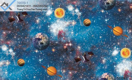 Giấy dán tường vũ trụ-giấy dán tường thiên hà