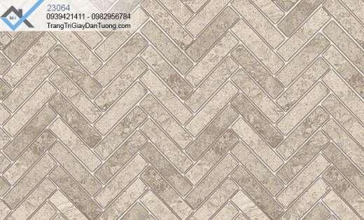 Giấy dán tường 3d-giấy dán tường giả đá đan xéo