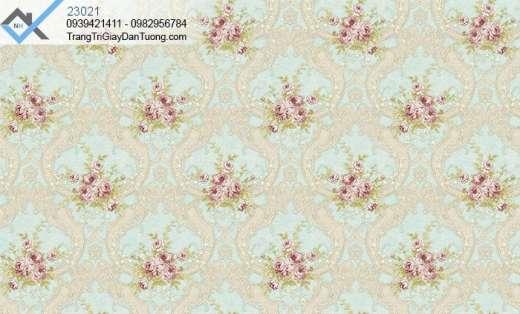 Giấy dán tường hoa hồng-giấy dán tường bông hoa