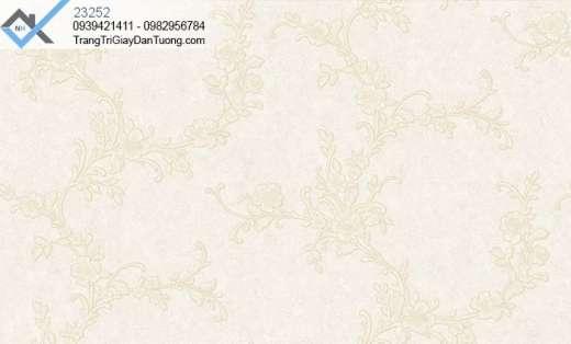 Giấy dán tường hoa dạng dây-giấy dán tường giấy leo