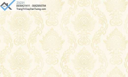 Giấy dán tường hoa văn cổ điển-giấy dán tường hoa văn sang trọng