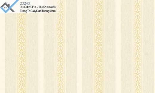 Giấy dán tường sọc-giấy dán tường sọc hoa văn