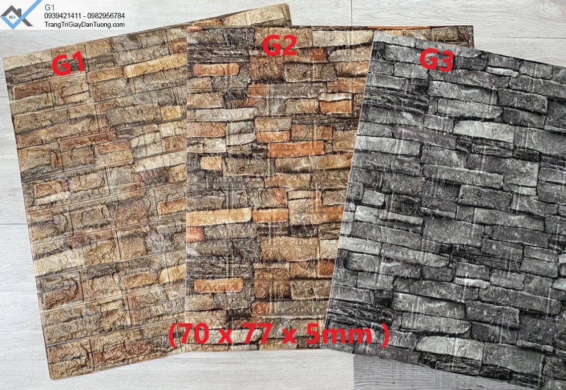 Xốp dán tường giả đá-xốp ốp tường giả đá 3d