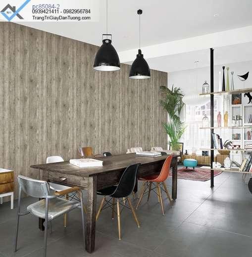 Giấy dán tường giả gỗ-giấy dán tường vân gỗ