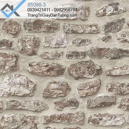 Giấy dán tường giả đá-giấy dán tường giả tường xây đá