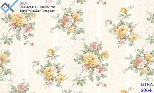 Giấy dán tường hoa hồng-giấy dán tường bông hồng