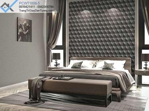 Giấy dán tường 3d-giấy dán tường phòng ngủ