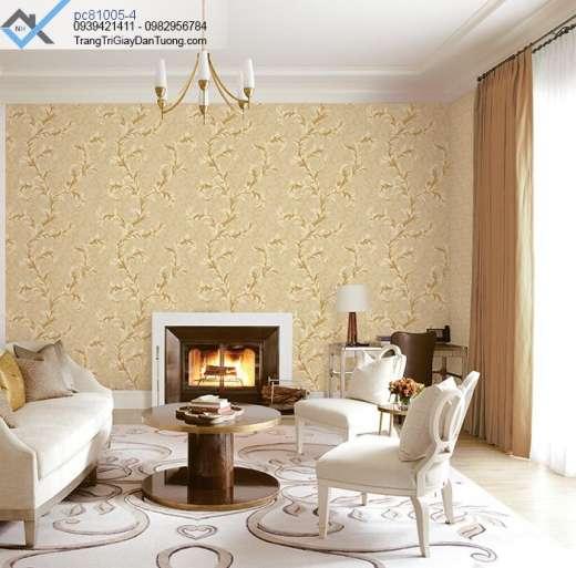 Giấy dán tường châu âu-giấy dán tường cổ điển phòng khách